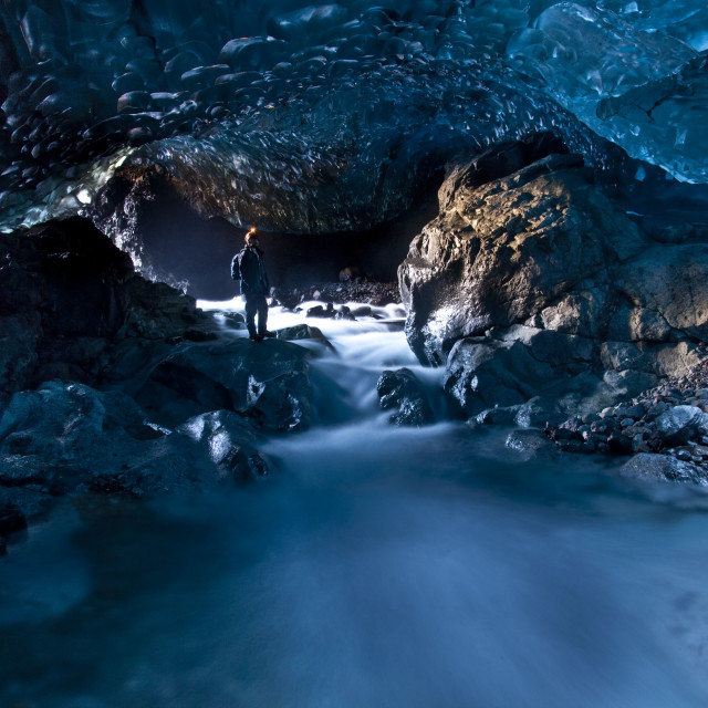 """Blue Cave"" stock image"