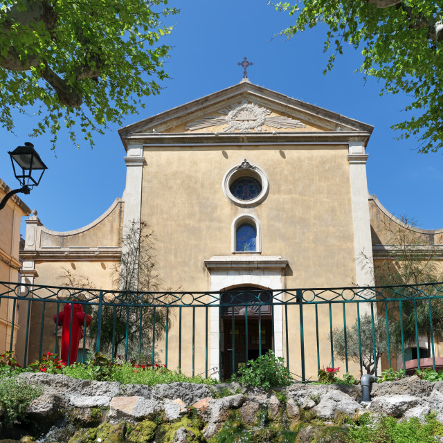 """Mediterranean church"" stock image"
