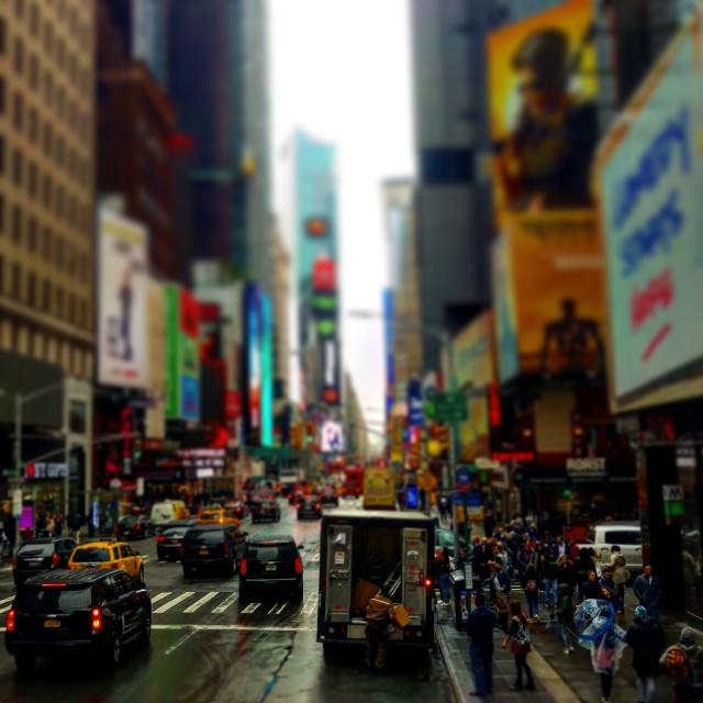 """Broadway New York"" stock image"