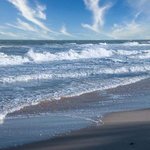 """sea waves"" stock image"