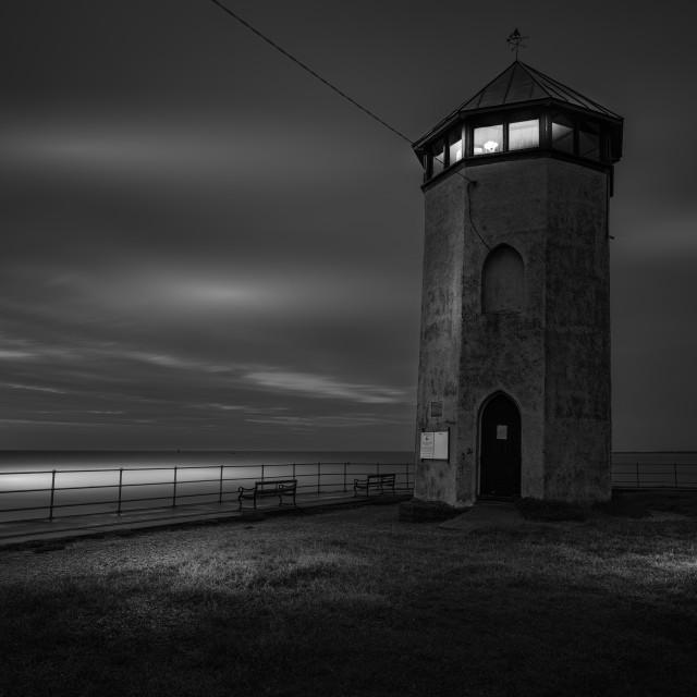 """Brightlingsea And Bateman's Tower"" stock image"