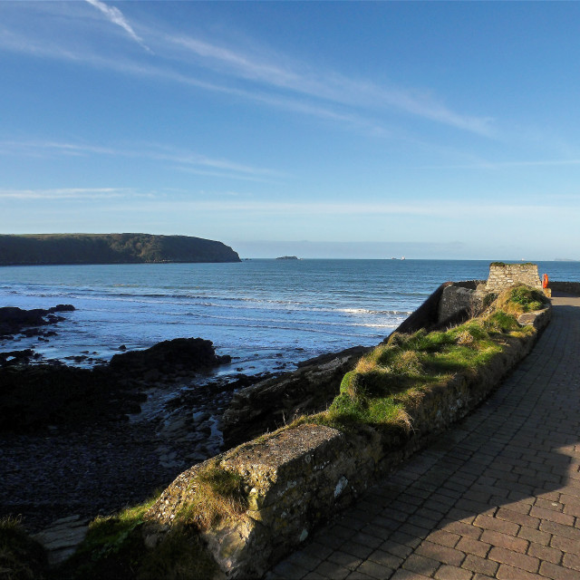 """""""View from Little Haven Point"""" stock image"""