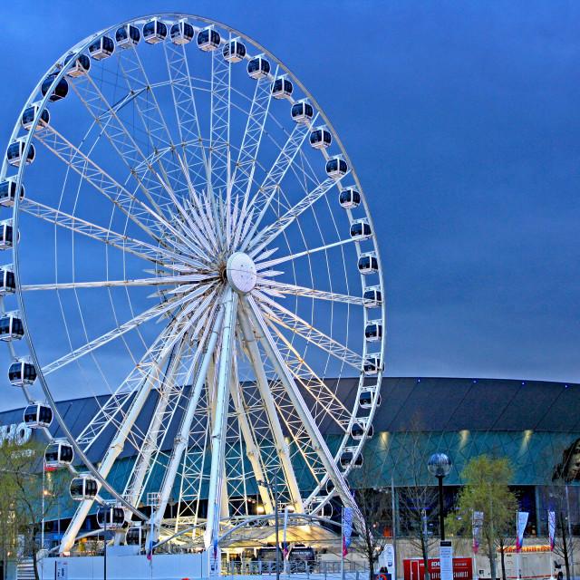 """""""Liverpool Wheel"""" stock image"""