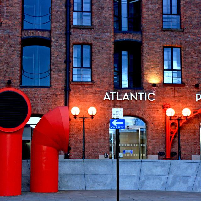"""Atlantic Pavilion"" stock image"