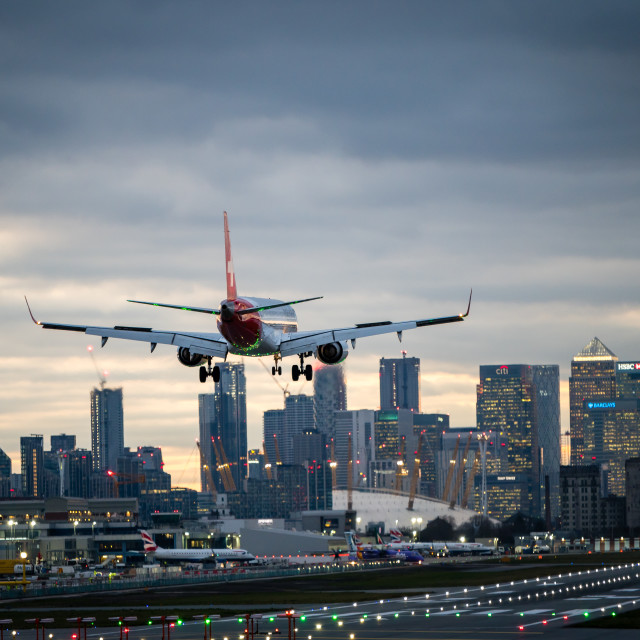"""City Airport 1"" stock image"