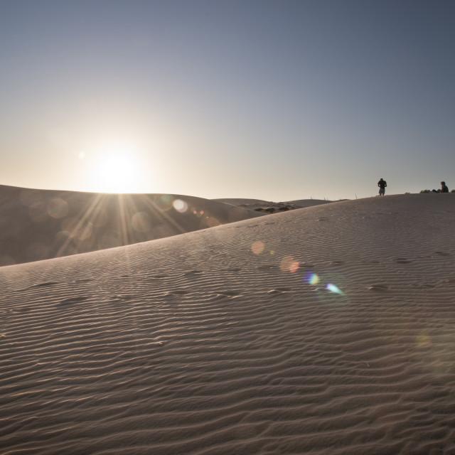"""sand dunes"" stock image"