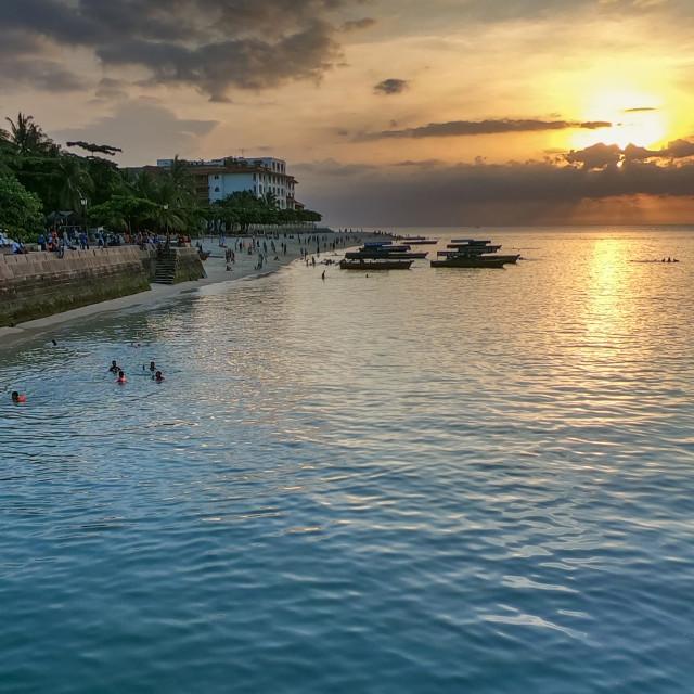 """""""Stone Town Zanzibar"""" stock image"""