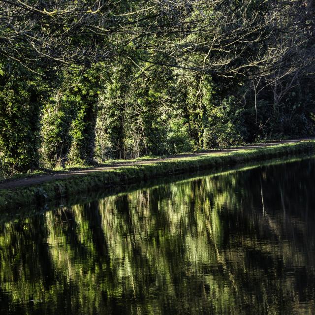 """UK - Grand Union Canal"" stock image"