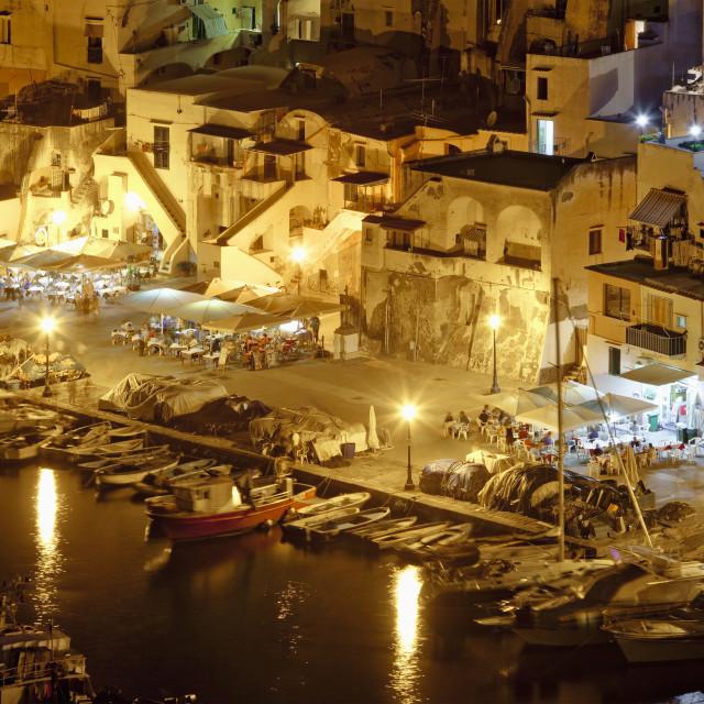 """Corricella, Procida Isle, Italy"" stock image"