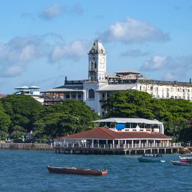 """House of Wonders - Zanzibar"" stock image"