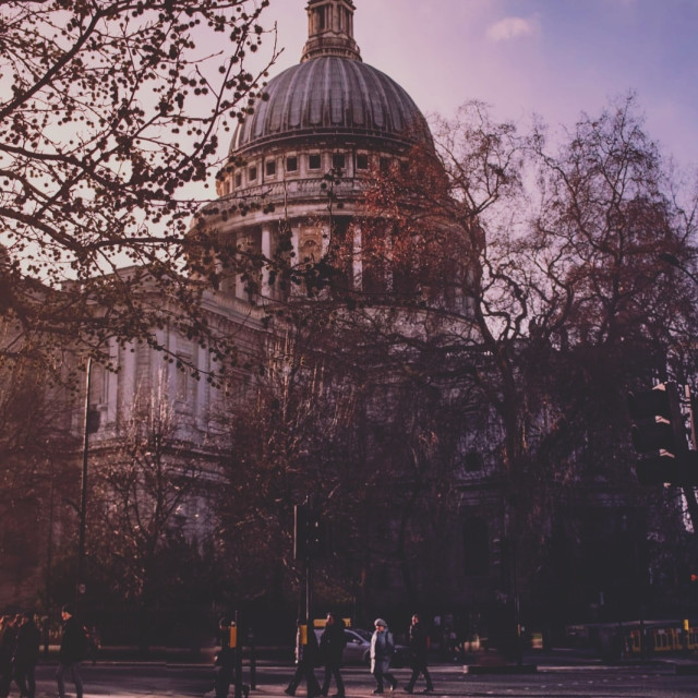 """""""St. Paul Cathedral - London"""" stock image"""