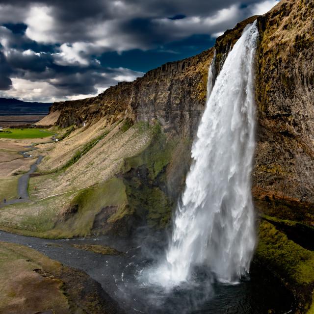 """Famous waterfall"" stock image"