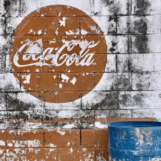 """""""Coca Cola"""" stock image"""