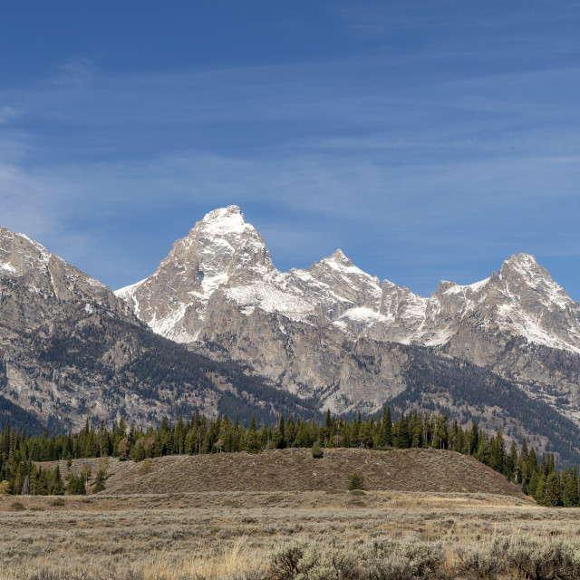 """Grand Teton National Park, Wyoming, USA"" stock image"
