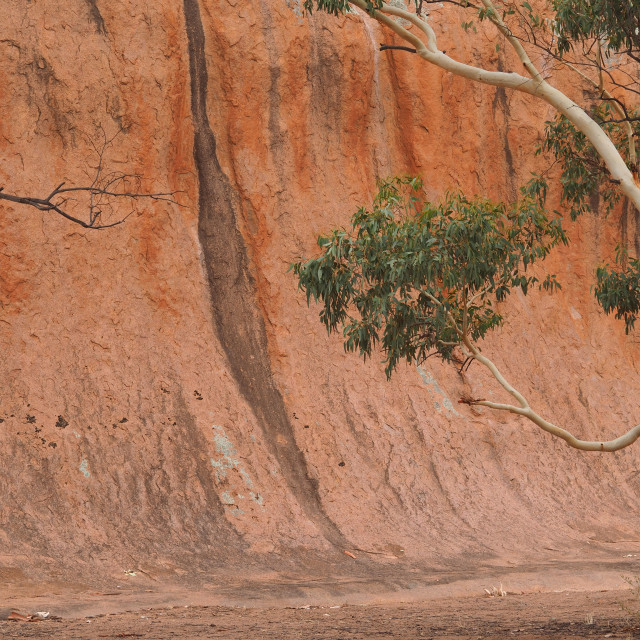 """Wave Rock"" stock image"