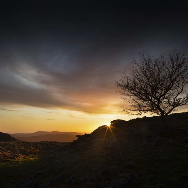 """""""Brecon Beacons sunset"""" stock image"""