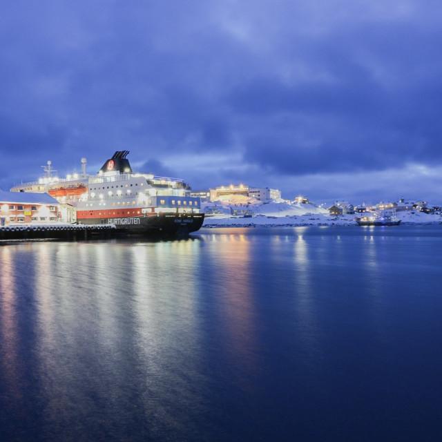 """""""Norway's port"""" stock image"""
