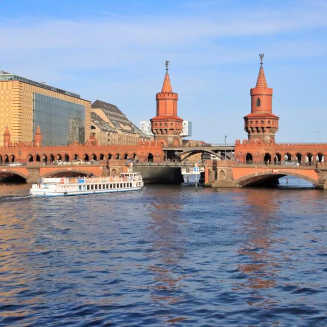 """Berlin - Oberbaumbrücke"" stock image"