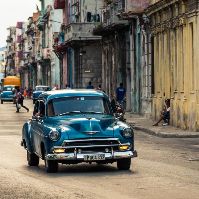 """Dusk in Havana"" stock image"