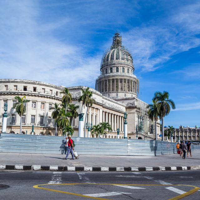 """Capitol building in Havana"" stock image"