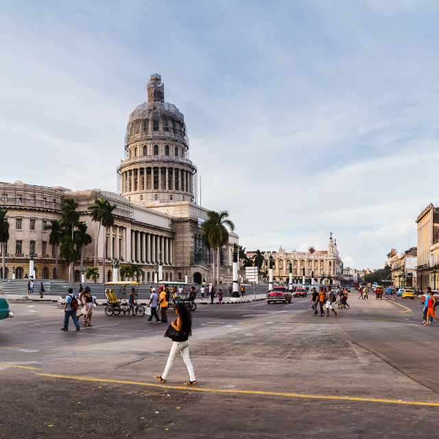 """Streets of Havana"" stock image"