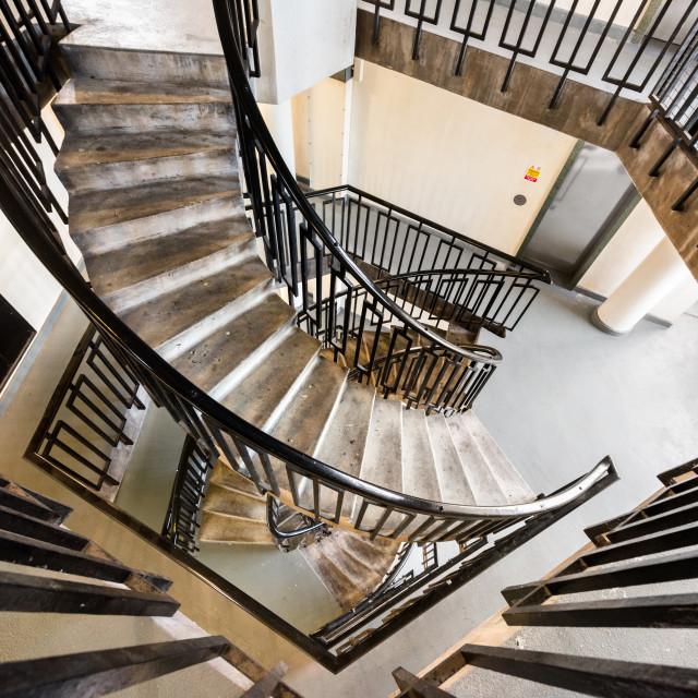 """""""Dorset Estate - George Loveless House, Bethnal Green, London, UK (I)"""" stock image"""
