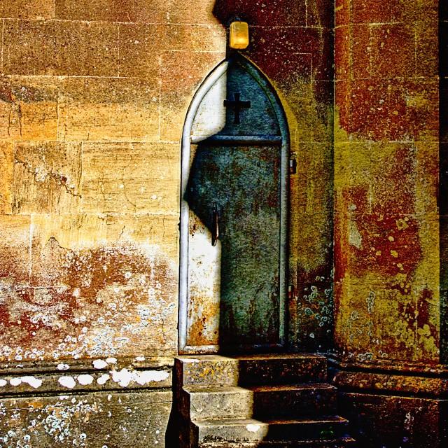 """Priestly Shadow"" stock image"