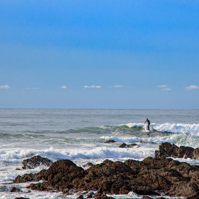 """Freshwater West Surfer"" stock image"