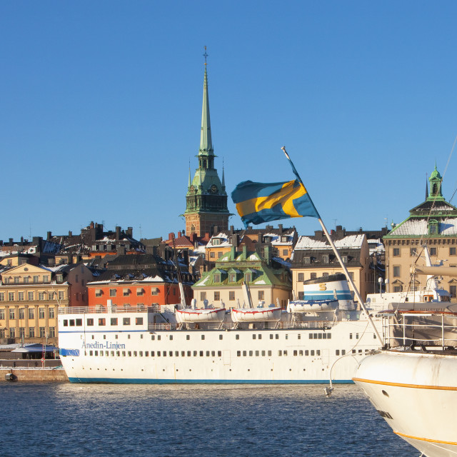 """Sweden, Stockholm - The Old Town."" stock image"