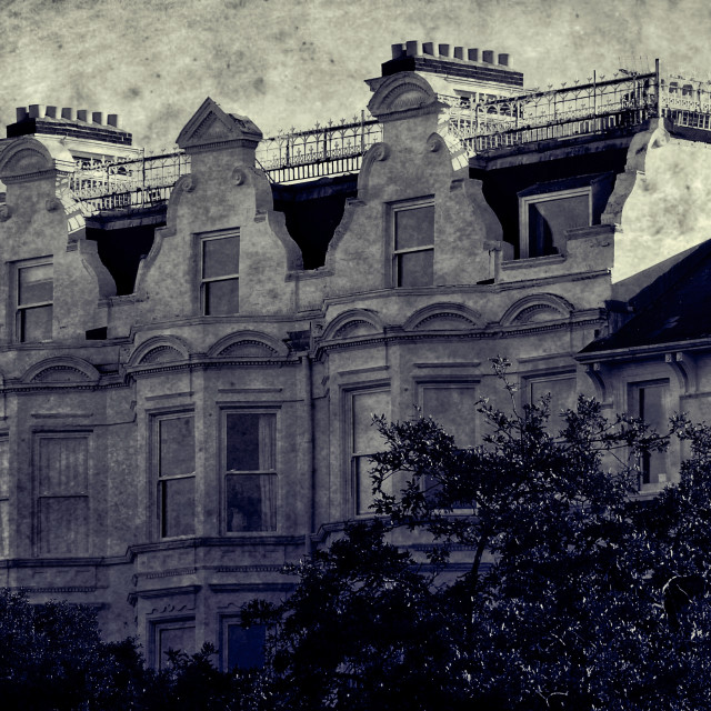 """Georgian Architecture"" stock image"