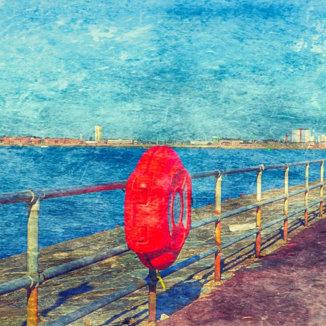 """Southsea Promenade"" stock image"