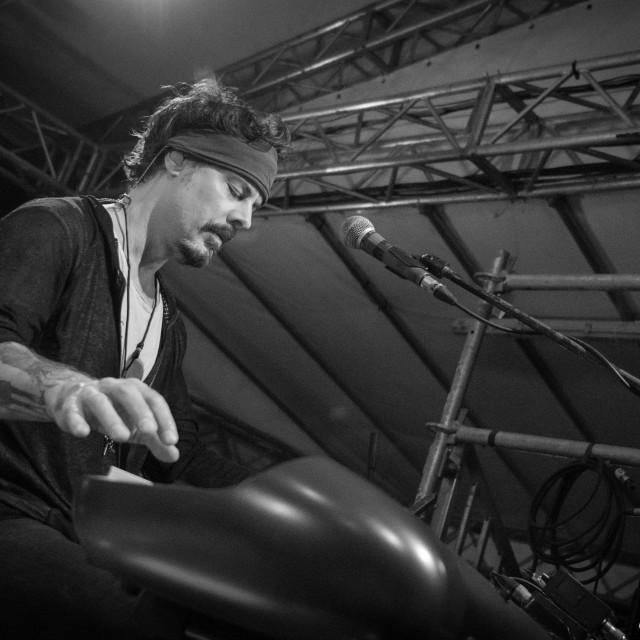 """Richie Kotzen at Circolo Magnolia (MI) 04-09-2017"" stock image"
