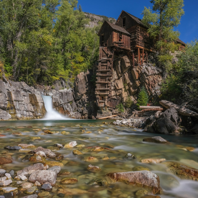 """""""Crystal mill"""" stock image"""