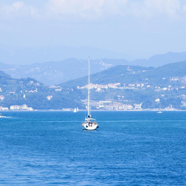 """Italy Liguria Lerici"" stock image"