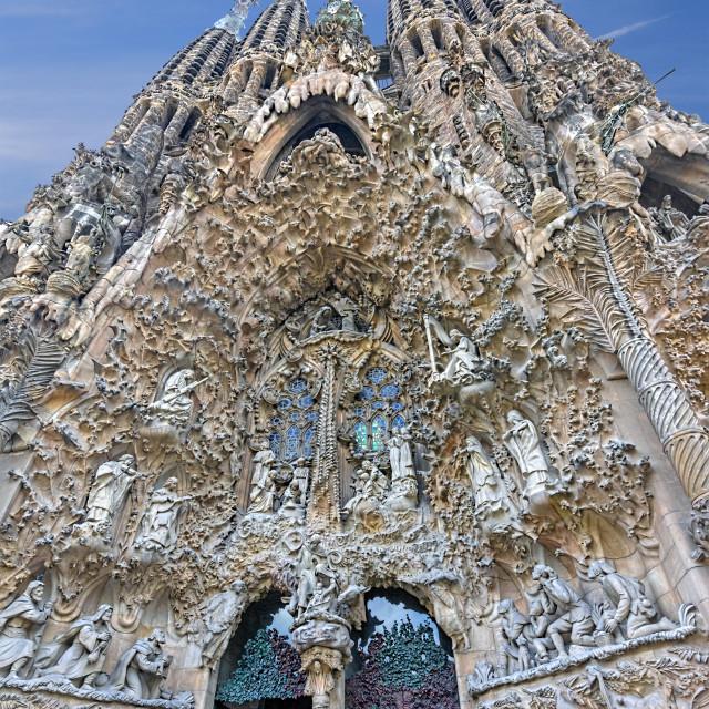 """The Segrada Familiiar"" stock image"