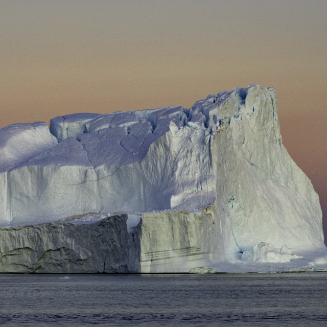 """""""The sheer size of this iceberg is amazing"""" stock image"""