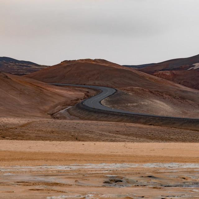 """""""Hverir - Iceland"""" stock image"""