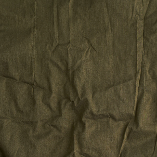"""""""khaki crumpled cotton fabric for sewing clothes"""" stock image"""