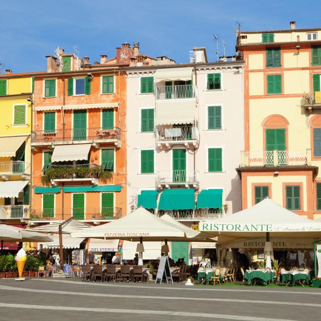 """Italy Liguria La Spezia Lerici"" stock image"