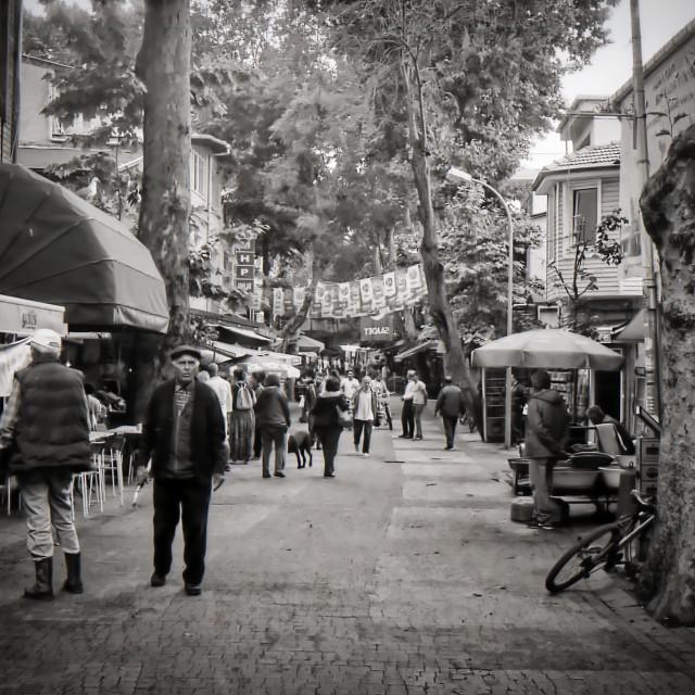 """""""Street scene in Turkey"""" stock image"""