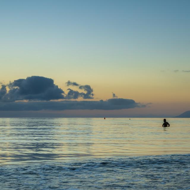 """Port Douglas, Queensland, dawn"" stock image"