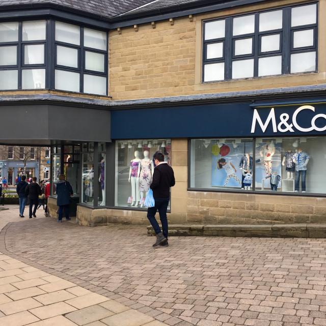 """M &Co shop in Ilkley, Yorkshire, UK"" stock image"