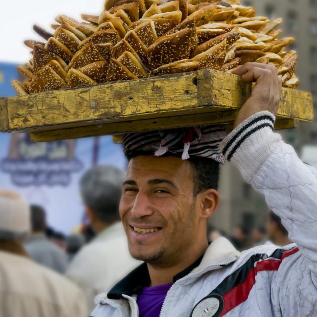 """Salesman Cairo"" stock image"