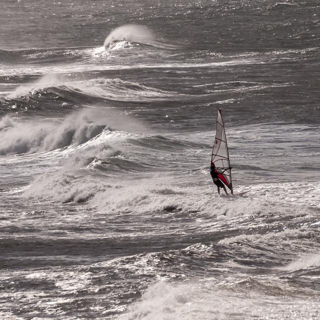 """Windsurf"" stock image"