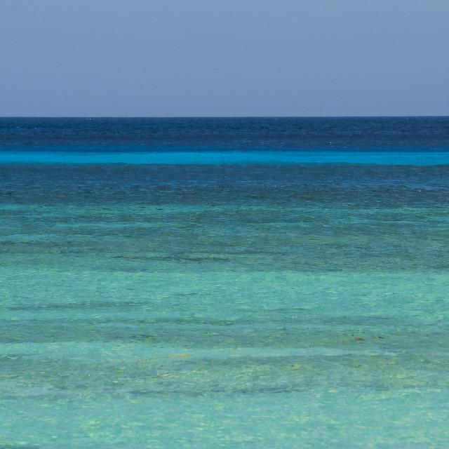 """""""Tons de Azul"""" stock image"""