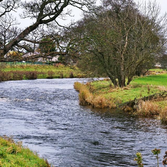 """River Doon"" stock image"