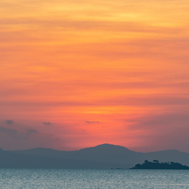 """Kep Sunset"" stock image"