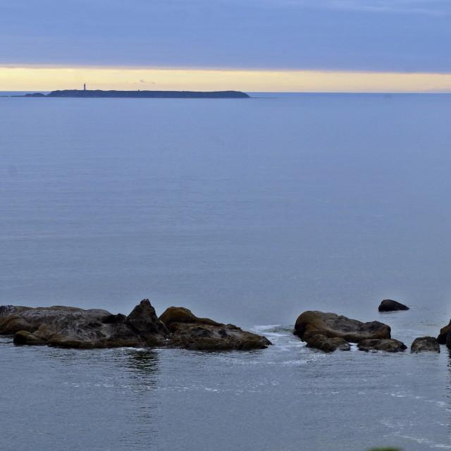 """""""Towards Destruction Island - Kalaloch 4 Washington"""" stock image"""