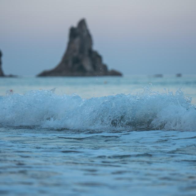 """Evening Waves"" stock image"