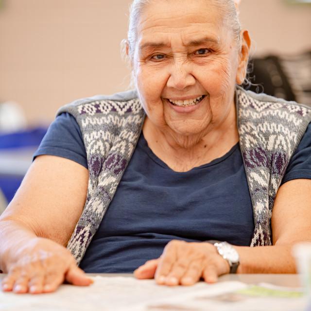 """Senior Mexican Woman"" stock image"